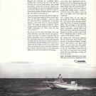 1964 Fisher- Pierce Boston Whaler Boats Ad- Nice Photo