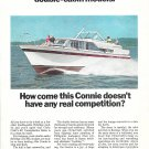 1967 Chris- Craft 40' Constellation Salon Yacht Color Ad- Nice Photo