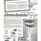 1948 Scott- Atwater 1-12 & 1-20 Outboard Motors Ad- Photo