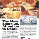 1988 Sabre 38 Yacht Color Ad- Nice Photo