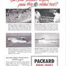 1949 Packard Marine Engines Ad- Photo of Matthews 40 Yacht