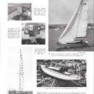 1949 K- 38 Sailboat Ad- Nice Photos