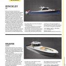 2021 Hinckley 35 & Seavee 450Z New Boats Reviews- Photo & Specs