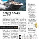 2021 Scout 330 LXF Boat Review- Photo & Specs