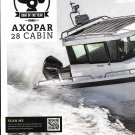 2020 Axopar 28 Cabin Boat Review- Boat f the Year- Nice Photo