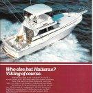 1980 Viking Yacht Color Ad- Nice Photo