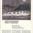 1967 Reynolds Aluminum Ad- Nice Drawing of MonArk 56' Houseboat