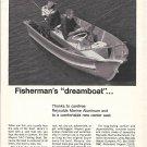 1967 Reynolds Aluminum Ad- Nice Photo of Meyers 14-C Fishing Boat