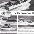 1949 Chris- Craft Boats Ad- Nice Photo of 46- 20- 26- 25 & 40'