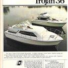 1980 Trojan F-36 Tri- Cabin & F-36 Convertible Yachts 2 Page Color Ad