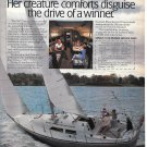 1980 C & C 32 Yacht Color Ad- Great Photo