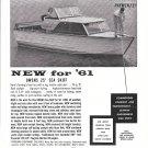 1961 Owens 25' Sea Skiff Boat Ad- Nice Photo