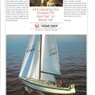 1971 Ericson 39 Yacht Color Ad- Nice Photo