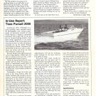 1980 Tiara Pursuit 2000 Boat Review- Photo & Boat Specs