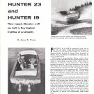 1960 Hunter 23 & 19 Boat Reviews- Nice Photos