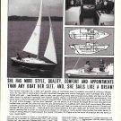 1966 Kenner Sailing Yachts Ad- Nice Photos of Kittiwake 23