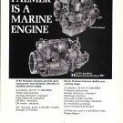 1966 Palmer Marine Engines Ad- Photo of Pal 64 & M-60 Models