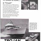 1966 Trojan 33' Sea Skiff Express Boat Ad- Nice Photo