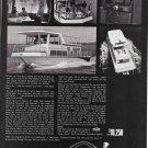 1969 Nauta- Line 34' Houseboat Ad- Nice Photos- Hot Girl