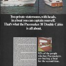 1969 Pacemaker 38' Double Cabin Yacht Color Ad- Nice Photos