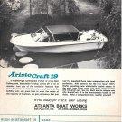 1970 Atlanta Boat Works Ad- Nice Photo AristoCraft 19