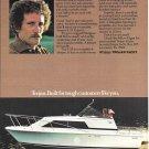 1977 Trojan F-25 Express Boat Color Ad- Nice Photo