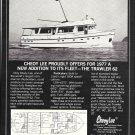1977 Cheoy Lee Trawler 62 Boat Ad- Nice Photo