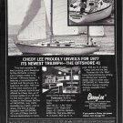 1977 Cheoy Lee Offshore 41 Yacht Ad- Nice Photo