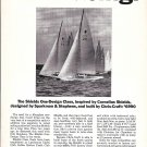 1965 Chris- Craft Shields One- Design Class yacht Ad- Nice Photo