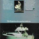 1971 Trojan 31' Yacht Color Ad- Nice Photo