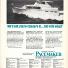 1967 Pacemaker 44' Sunliner Motor Yacht Ad- Nice Photo