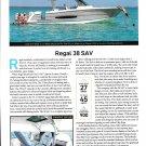 2021 Regal 38 SAV Yacht Review- Boat Specs & Nice Photo