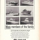 1968 Trojan Boat Co Ad- Photos of 6 Models