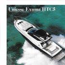 2021 Uniesse Exuma HTC5 Yacht Review- Boat Specs & Nice Photos