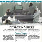 1987 Chris- Craft 19 BR Cavalier Boat Color Ad- Nice Photo
