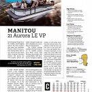 2021 Manitou 21 Aurora LE VP Boat Review- Boat Specs & Photo