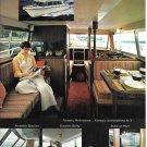 1970 Stamas V26 Americana Sedan Cruiser Boat Color Ad- Nice Photos