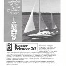 1970 Kenner Privateer 26 Yacht Ad- Nice Photo