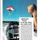 1974 Mercury Merc 1150 115 HP Outboard motors Color Ad-Nice Photo-Parasailer