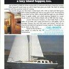 1974 Cal- Boats Color Ad- Nice Photo Cal- 35 Sailboat
