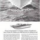 1965 Crestliner Pirate 19 Boat Ad- Nice Photo