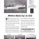 1950 Matthews 40' & 32' Yachts Ad- Photos