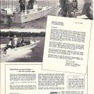 1966 Fisher- Pierce Boston Whaler Boats Ad- Nice Photos