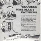 1971 Huckins Yacht Ad- Nice Photo