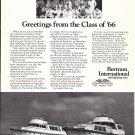 1971 Bertram International Yachts Ad- Nice Photo of 55' & 63'