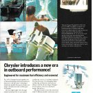 1974 Chrysler Outboard Motors Color Ad- Nice Photo