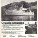 1972 American Marine LTD Alaskan 55 Offshore Diesel Motorship Ad- Nice Photo