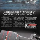 Old Mariner 200 HP Outboard Motors Color Ad- Nice Photo