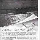 1942 WW II Jefferson- Travis Radio Ad- Nice Photo Pan Am Airways Military Plane