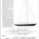 """1942 Tom Knudsen 46' Yacht """"Perroquet"""" Ad- Drawings"""
